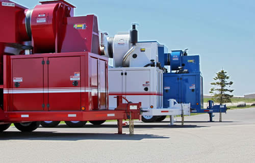 Mobile Dust Collector System
